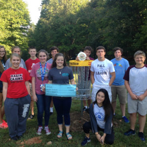 Clarksville Academy Disc Golf and B-Cycles