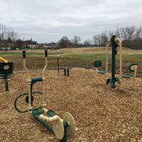 McGregor Park Outdoor Fitness Equipment