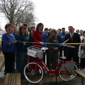 B-Cycle Ribbon Cutting