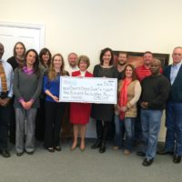 Mayor's Fitness Council Check Presentation