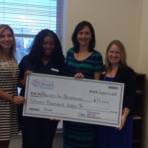 Nurses for Newborns Receives Grant